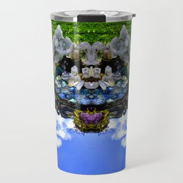 Bearded Crystal Bearcat Travel Mug