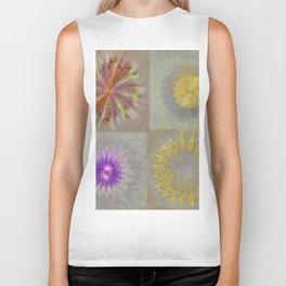 Anticapitalistically Combination Flower  ID:16165-030023-59450 Biker Tank