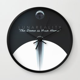 """""""The Dome is Your Home"""" Wall Clock"""