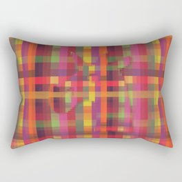 Pixelated Unicorn Rectangular Pillow