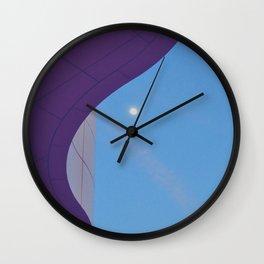Lunar Curve Wall Clock