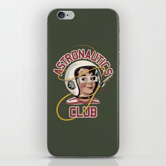 Astro Club (green) iPhone & iPod Skin