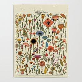 Wildflower Chart Poster