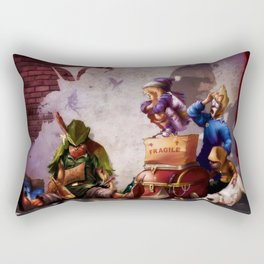 Peter Panhandler Rectangular Pillow