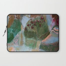 Floral landscape Laptop Sleeve