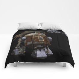 Steampunk Sci-Fi  Comforters