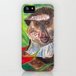Mona Monkey iPhone Case