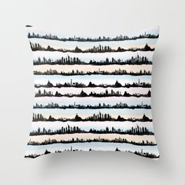 Cities Throw Pillow