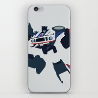 transformers iPhone & iPod Skins featuring Transformers G1 - Autobot Jazz by TracingHorses