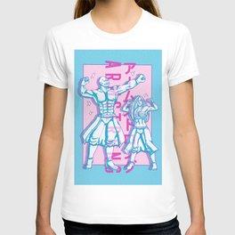 Armstrong! Alex and Olivier Vaporwave Design T-shirt