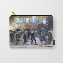 Six Doctors Carry-All Pouch