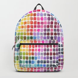 Watercolor Swatches Backpack
