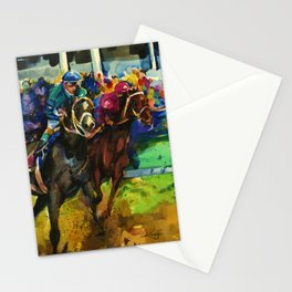 The Race No. 2B by Kathy Morton Stanion Stationery Cards