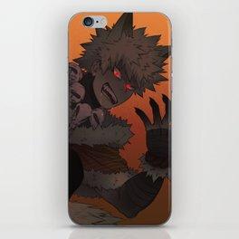 Werewolf Bakugou iPhone Skin