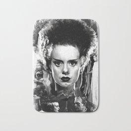 The Bride of Frankenstein Bath Mat