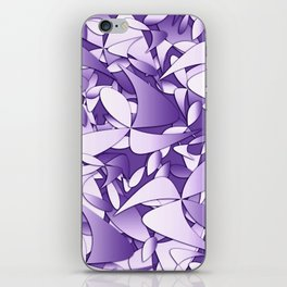 Pattern violet 211 iPhone Skin