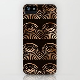 The Eyes of Manon iPhone Case