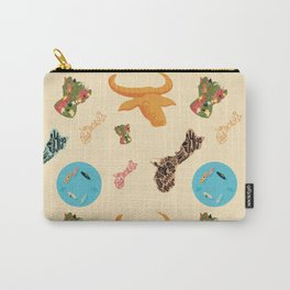 Orange Carabao  Carry-All Pouch