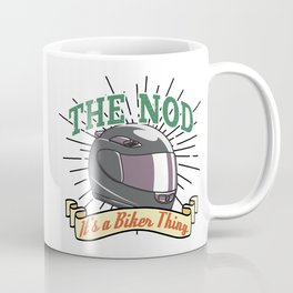 Bikers Nod Coffee Mug