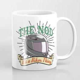 Bikers Nod Coffee Mug
