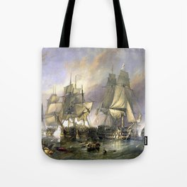 The Battle of Trafalgar Tote Bag