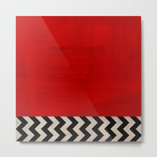 Twin Peaks - Red Room Metal Print