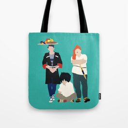 Kidnapping Caucassian Style Tote Bag