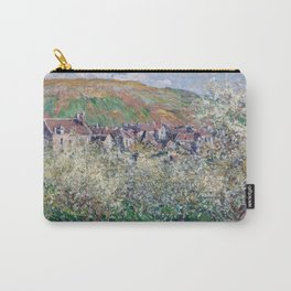 Plum Trees in Blossom by Claude Monet Carry-All Pouch