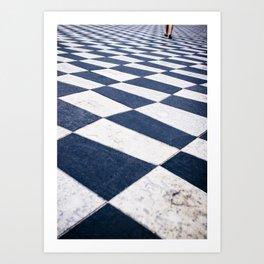 Place Massena, Nice Art Print