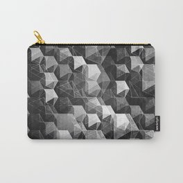 as the curtain falls (monochrome series) Carry-All Pouch