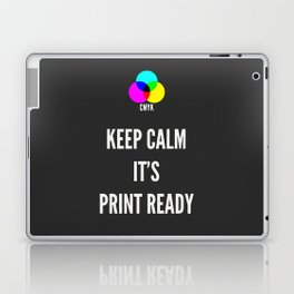 Print Ready Dark Laptop & iPad Skin