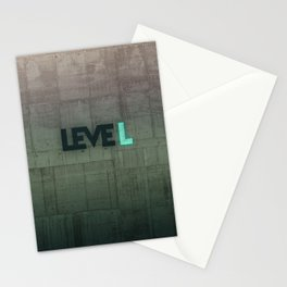 leveL - Title Stationery Cards