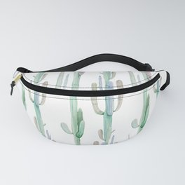 Arizona Wilderness Cactus Pattern Fanny Pack