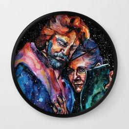 The Skywalker twins Wall Clock