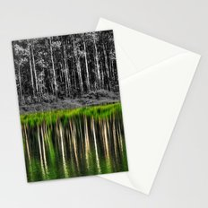 Forest reflection Stationery Cards