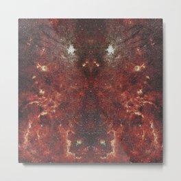 Mirrored Galaxy Metal Print