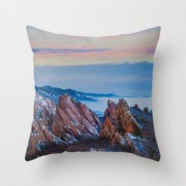 Roxborough Park Throw Pillow