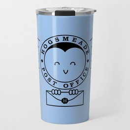 Cute Hogsmeade Post Office Stamp Travel Mug
