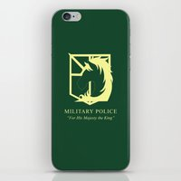 military iPhone & iPod Skins featuring Military Police by Dennis Au