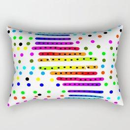Rainbow 21 Rectangular Pillow
