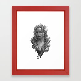 Britta Framed Art Print