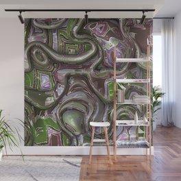3D Twist 12 Wall Mural