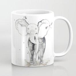 aquarela Elefante Coffee Mug