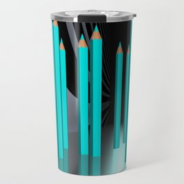 just some pencils -1- Travel Mug