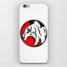 White Tiger iPhone & iPod Skin