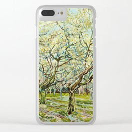 Vincent Van Gogh - White Orchard Clear iPhone Case