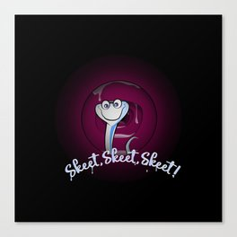 Skeet, Skeet, Skeet ! Canvas Print