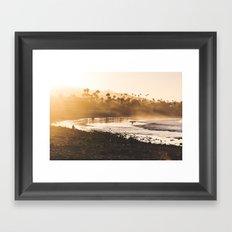 Good Morning Ventura Framed Art Print