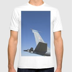 KC135 KC-135 Military Refueling Airplane/Aircraft USAF Mens Fitted Tee White MEDIUM