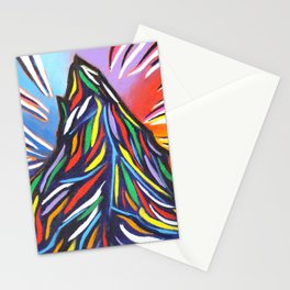 Matterhorn Mountain Art Stationery Cards